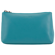 Buy John Lewis Printed Cosmetics Pouch, Daisychain Teal Online at johnlewis.com