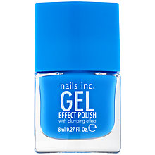 Buy Nails Inc. Gel Effect Polish with Plumping Effect Online at johnlewis.com