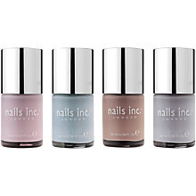 Buy Nails Inc. The Nude Collection, 4 x 10ml Online at johnlewis.com
