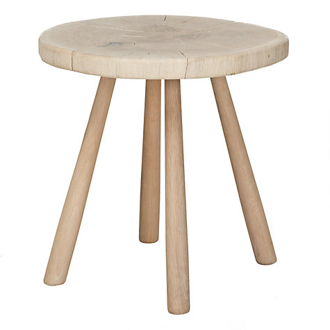 Buy John Lewis Croft Bowmore Log Side Table, Large Online at johnlewis.com