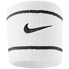 Buy Nike Swoosh Dri-Fit Wristband Online at johnlewis.com