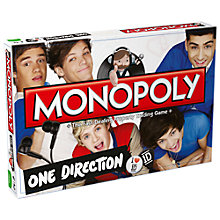 Buy One Direction Monopoly Online at johnlewis.com