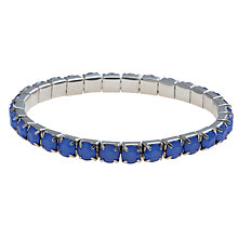 Buy COLLECTION by John Lewis Glass Stone Stretch Bracelet Online at johnlewis.com