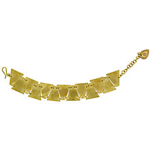 Buy Made Sequence Geometric Statement Bracelet, Brass Online at johnlewis.com