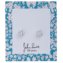 Buy John Lewis Daisychain Print Diamante Star Stud Earrings Online at johnlewis.com