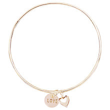 Buy Joma Loveheart Bangle Online at johnlewis.com