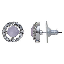 Buy John Lewis Halo Surround Pastel Stud Earrings Online at johnlewis.com