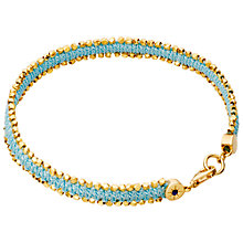 Buy Astley Clarke Biography 18ct Gold Vermeil Nugget Bracelet Online at johnlewis.com