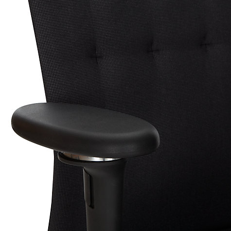 Buy Vitra Id Office Chair, Black Online at johnlewis.com