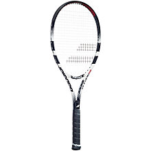 Buy Babolat Pulsion 102 Adult Tennis Racket, White/Black Online at johnlewis.com