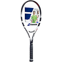 Buy Babolat Pulsion 102 Adult Tennis Racket, Black/Red Online at johnlewis.com