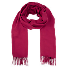 Buy Planet Wrap Scarf, Red Online at johnlewis.com