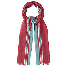 Buy White Stuff Plain Scarf, Hot Coral Online at johnlewis.com