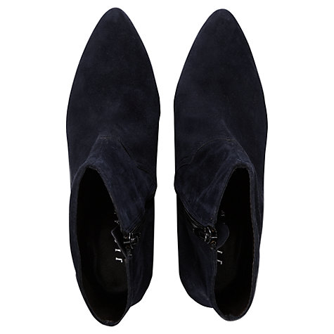 Buy Jigsaw Brockley Ankle Boot, Navy Online at johnlewis.com