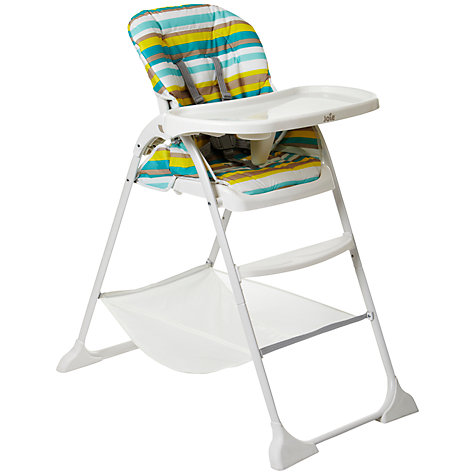 Buy Joie Mimzy Snacker Highchair, Stripe Online at johnlewis.com