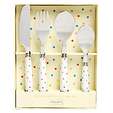 Buy Martin Gulliver Spot Cutlery Set, Multi Online at johnlewis.com