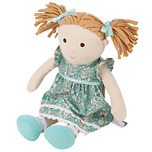 Buy Silver Cross Daisychain Print Emily Doll Online at johnlewis.com