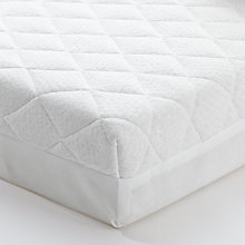 Buy John Lewis Premium Foam Cot Mattress, 120 x 60cm & Mattress Protector Set Online at johnlewis.com
