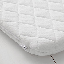 Buy John Lewis Premium Foam Pram Mattress, 76 x 33cm Online at johnlewis.com