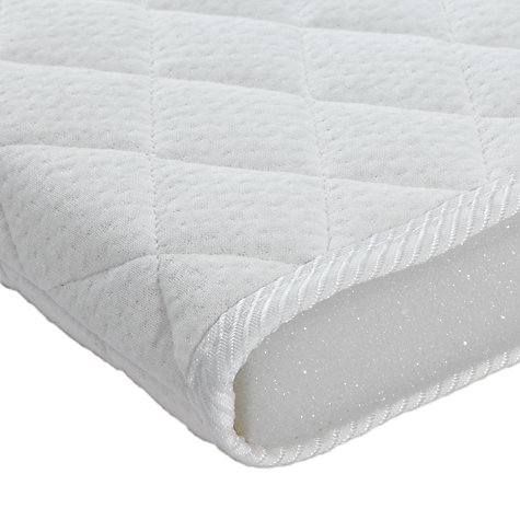 Buy John Lewis Premium Foam Crib Mattress, 89 x 38cm Online at johnlewis.com