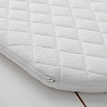 Buy John Lewis Premium Foam Moses Basket Mattress, 75 x 28cm Online at johnlewis.com