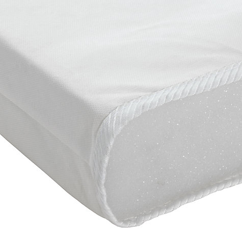 Buy John Lewis Basic Foam Cotbed Mattress, 140 x 70cm Online at johnlewis.com