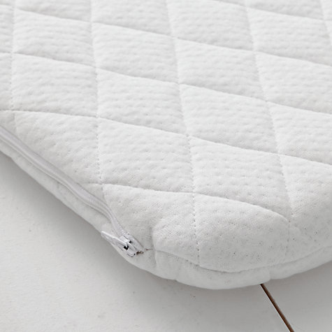 Buy John Lewis Premium Foam Pram Mattress, 74 x 35cm Online at johnlewis.com