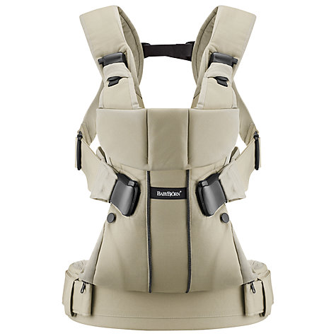 Buy BabyBjörn One Carrier, Khaki Online at johnlewis.com
