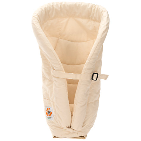 Buy Ergobaby Organic Infant Carrier Insert, Neutral Online at johnlewis.com