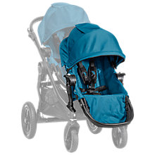 Buy Baby Jogger City Select Second Seat Kit, Teal Online at johnlewis.com