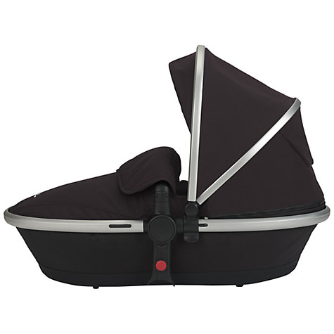 Buy Silver Cross Surf2 Pram Chassis, Seat and Carrycot, Black Online at johnlewis.com