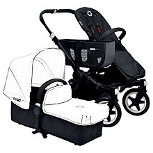 Buy Bugaboo Donkey Base Chassis and Carrycot, Black Online at johnlewis.com