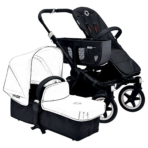 Buy Bugaboo Donkey Base Chassis, Black Online at johnlewis.com