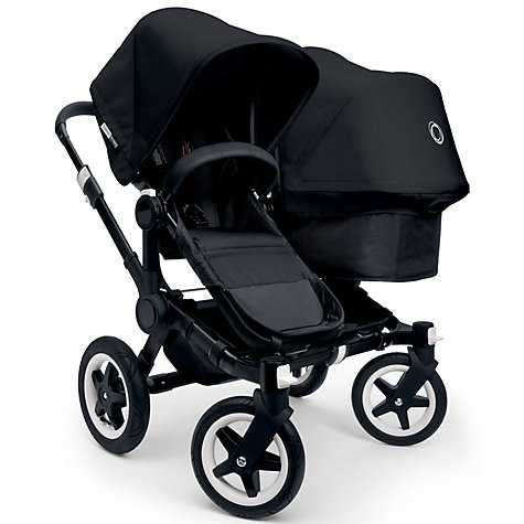 Buy Bugaboo Donkey Base Pushchair Chassis and Carrycot, Black Online at johnlewis.com