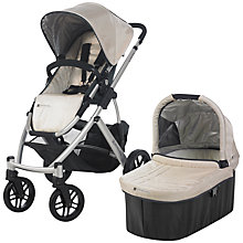 Buy Uppababy Vista Pushchair, Lindsey Wheat Online at johnlewis.com