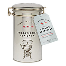 Buy Cartwright & Butler English Breakfast Tea Caddy, 30 bags, 75g Online at johnlewis.com