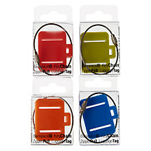 Buy Design Ideas Luggage Tag, Assorted Online at johnlewis.com