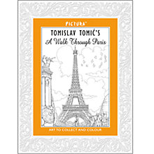Buy Pictura Paris Colouring Book Online at johnlewis.com