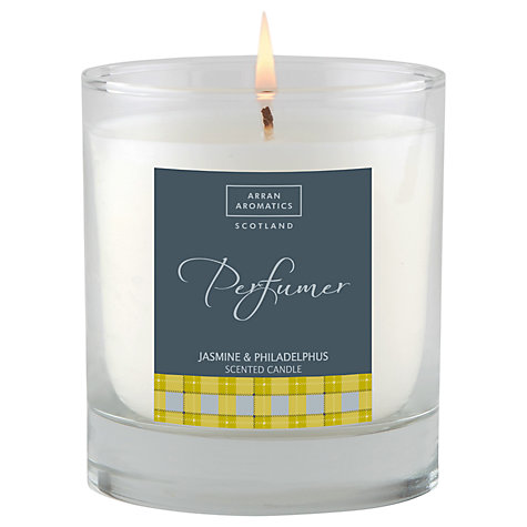 Buy Arran Aromatics Jasmine and Philadelphus Scented Candle Online at johnlewis.com