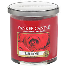 Buy Yankee Candle True Rose Scented Candle, Small Online at johnlewis.com