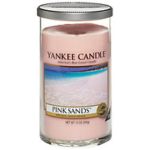 Buy Yankee Candle Pink Sands Candle, Medium Online at johnlewis.com