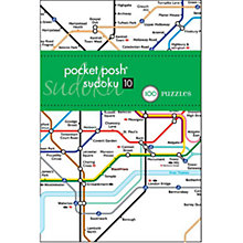 Buy House of Marbles Tube Map Pocket Posh Sudoku 10 Puzzle Book Online at johnlewis.com
