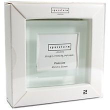 Buy Spaceform Block Colour Photo Frame, Small Online at johnlewis.com