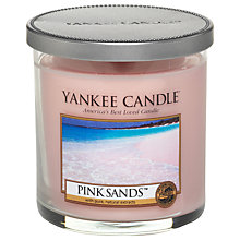 Buy Yankee Candle Pink Sands Scented Candle, Small Online at johnlewis.com