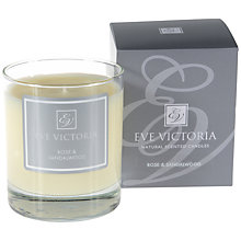 Buy Eve Victoria Rose and Sandalwood Scented Candle Online at johnlewis.com