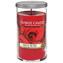 Buy Yankee Candle True Rose Scented Candle, Medium Online at johnlewis.com