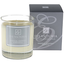 Buy Eve Victoria Geranium, Grapefruit and Patchouli Scented Candle Online at johnlewis.com