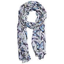 Buy Betty Barclay Butterfly Print Scarf Online at johnlewis.com