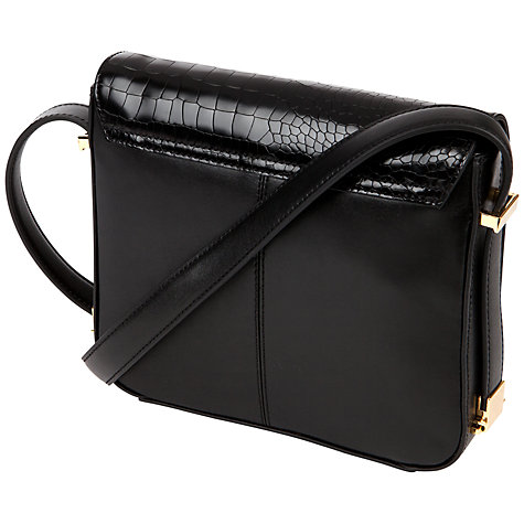 Buy Ted Baker Barrba Across Body Bag, Black Online at johnlewis.com