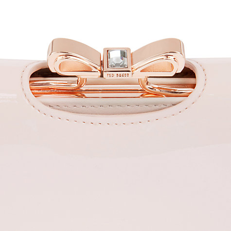 Buy Ted Baker Lindar Bow Bobble Leather Purse Online at johnlewis.com